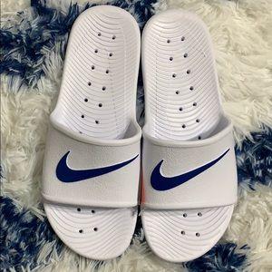 Other - Men's Nike Slide White sandals